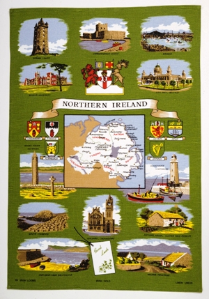Northern Ireland Linen Union Tea Towel